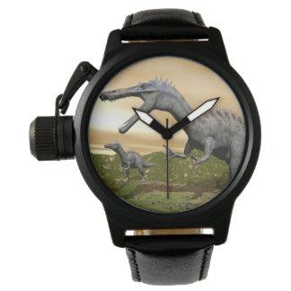 Suchomimus dinosaurs - 3D render Wrist Watches