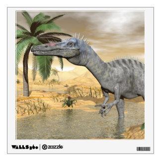 Suchomimus dinosaurs in desert - 3D render Wall Sticker