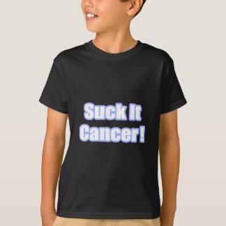 Suck It Cancer (Blue) T-Shirt