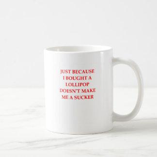 sucker coffee mug