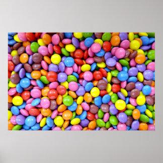 Sucrerie colorée poster
