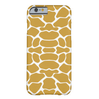 Sudan Brown Safari Giraffe Barely There iPhone 6 Case