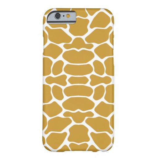 Sudan Brown Safari Giraffe iPhone 6 Case