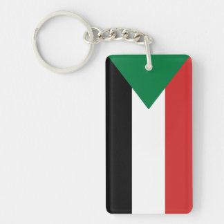 sudan country flag nation symbol keychain