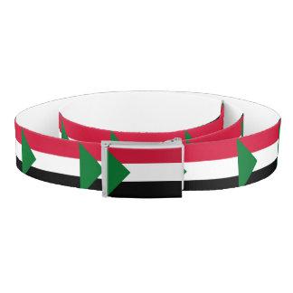Sudan Flag Belt