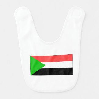Sudan Flag Bib
