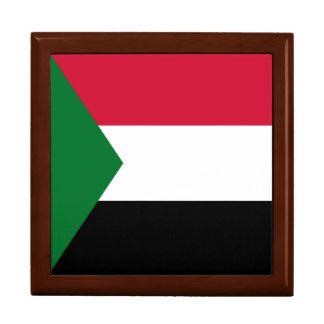 Sudan Flag Jewelry Boxes