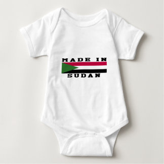 Sudan Made In Designs Baby Bodysuit