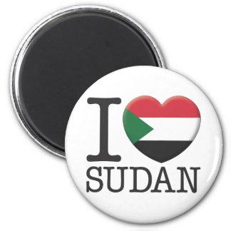 Sudan Refrigerator Magnets