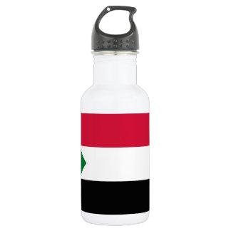 Sudan National World Flag 532 Ml Water Bottle