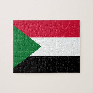 Sudan National World Flag Puzzle