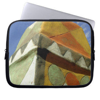 Sudan North Nubia Decorated roof Laptop Sleeves