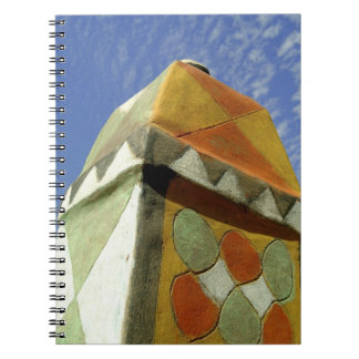 Sudan, North (Nubia), Decorated roof Notebooks