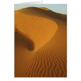 Sudan, North (Nubia), dunes in the desert Greeting Card