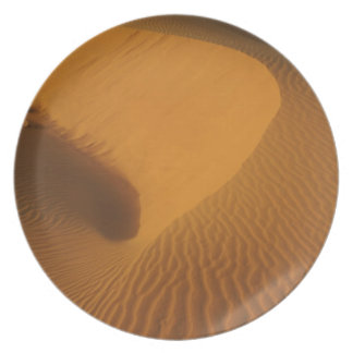 Sudan, North (Nubia), dunes in the desert Party Plate