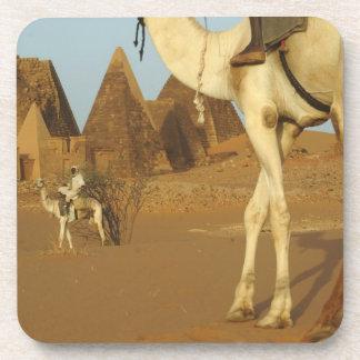 Sudan, North (Nubia), Meroe pyramids with Drink Coasters