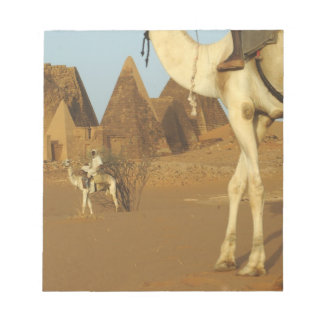 Sudan, North (Nubia), Meroe pyramids with Memo Pads