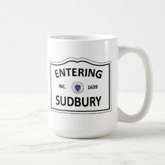 SUDBURY MASSACHUSETTS Hometown Mass MA Townie Coffee Mug