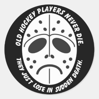 Sudden Death Classic Round Sticker