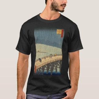 Sudden shower over Shin-Ōhashi bridge, Hiroshige T-Shirt