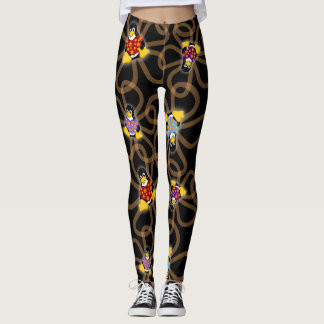 Suddenly Penguins Leggings (Dark)