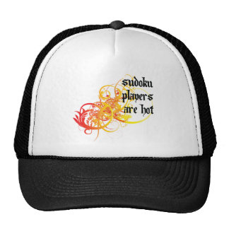 Sudoku Players Are Hot Trucker Hat