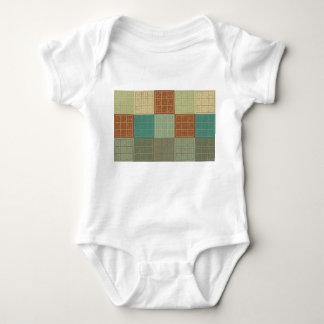Sudoku Pop Art Baby Bodysuit