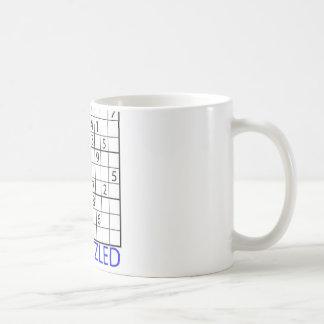 Sudoku Puzzle Coffee Mugs