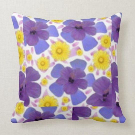 Sue Florah Throw Design Throw Pillow