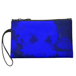 Suede mini clutch by DAL