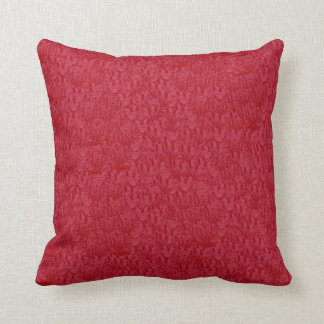 Suede Simulated Red-dish Decor-Soft Pillows