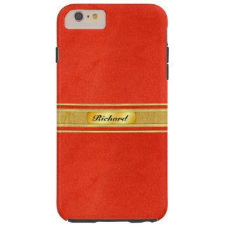 Sueded Leather Like Personalized Phone Case