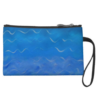 Sueded Water Purse