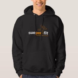 sueper fit Black Hoodie