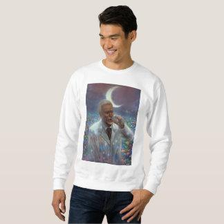 Suéter Moon Branca Sweatshirt