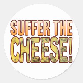 Suffer Blue Cheese Round Sticker