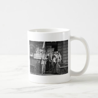 Suffragettes and Their Men, 1913 Classic White Coffee Mug