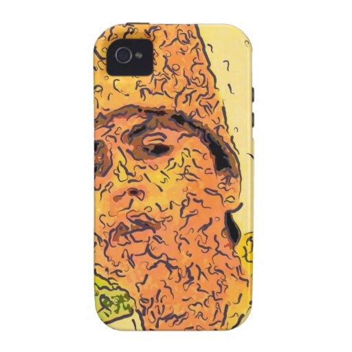 sufi boy sketch Case-Mate iPhone 4 cases