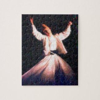 sufi - dervish dancing art paint jigsaw puzzle