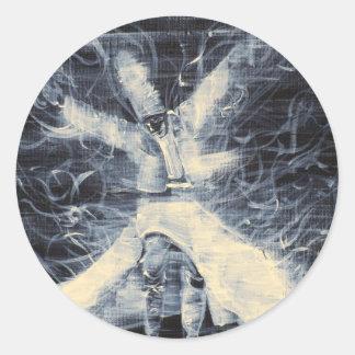 sufi whirling-february 14,2013.JPG Round Sticker