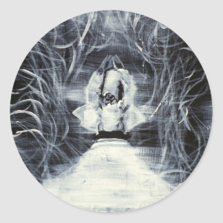 sufi whirling - february 19,2013.JPG Round Sticker