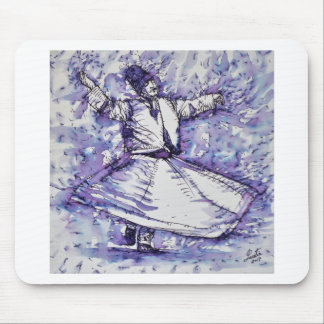 sufi whirling - NOVEMBER 27,2017 Mouse Pad