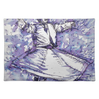 sufi whirling - NOVEMBER 27,2017 Placemat