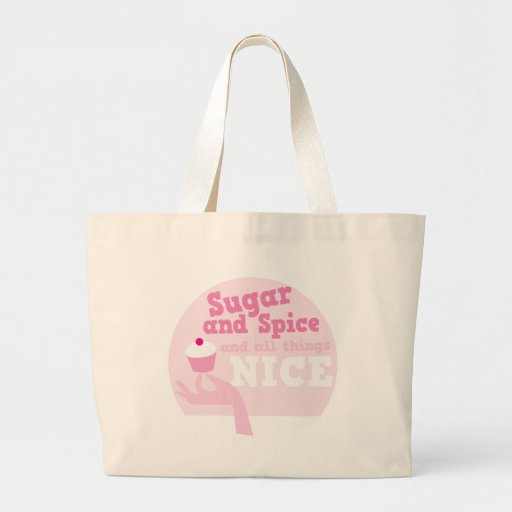 Sugar and spice and all things nice! tote bag