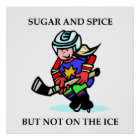 Sugar and Spice but Not on the Ice Poster