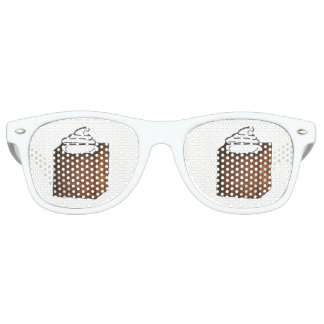 Sugar and Spice Gingerbread Cake Christmas Holiday Retro Sunglasses