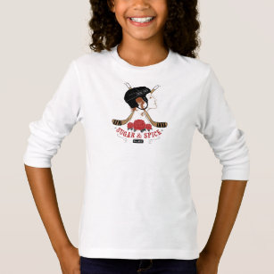 Sugar and Spice Hockey Player T-Shirt