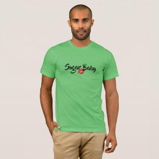 SUGAR BABY MEN'S GREEN T-Shirt