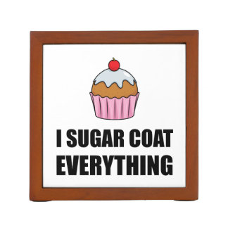 Sugar Coat Everything Cupcake Desk Organizer