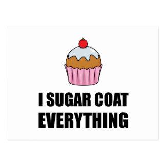 Sugar Coat Everything Cupcake Postcard